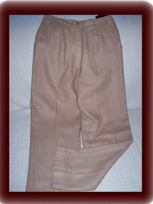 Petite Andrea Viccaro Brown and Tan Pants Petite Size 6P
