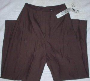 Petite Black Copper Twill  Dress Pants Size 6 Petite