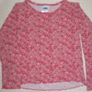 FREE SHIPPING!!  OLD NAVY Long Sleeved Pink Flowered shirt 4T GENTLY USED