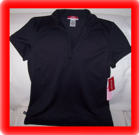 FREE SHIPPING!!  Anne Klein Sport Stretch Shirt Size S