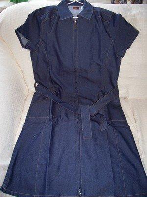 FREE SHIPPING!!! Denim Dress SIZE SMALL