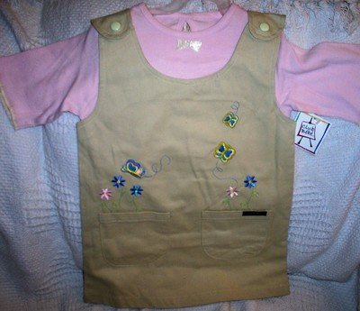 FREE SHIPPING Club Bebe Girls Dress Set Size 4T