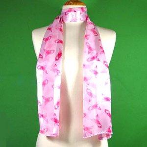 PASSION FOR PINK!!  Pink Breast Cancer Awareness Scarf / Belt / Sash