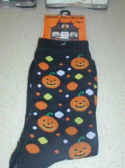 FREE SHIP BRAND NEW Halloween Socks Jack o Lantern