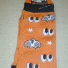 FREE SHIP BRAND NEW Halloween Socks Spooky eyes and bats