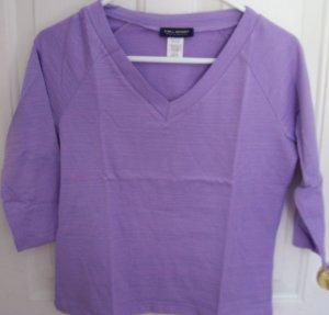Easter Size X Large Purple 3/4 Sleeve Shirt