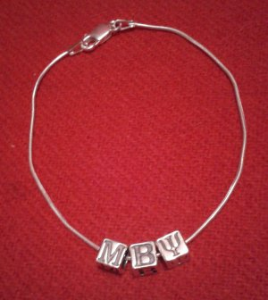 Mu Beta Psi Anklet