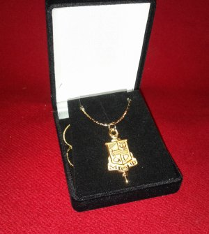 "Brother's Key Pendant with 18"" Chain"