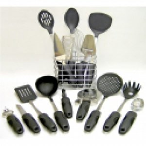 17pc Kitchen Tool Set