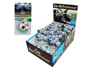 Soccer ball design air freshener