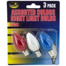 Colored Night Light Bulbs