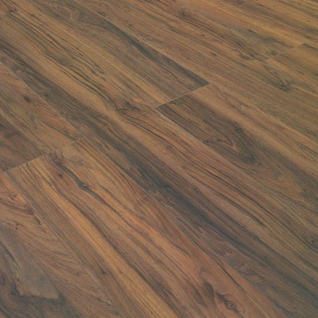 Hand Scraped Highly Water Resistant Pecan Laminate Flooring