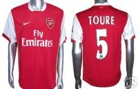 ARSENAL HOME SOCCER FOOTBALL SHIRT XL+ANY NAME