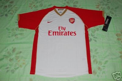 NEW ASENAL HOME  Football  Soccer shirt XL+ANY NAME