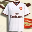 ARSENAL AWAY  FOOTBALL SHIRT XL FREE NAME&NUMBER