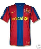 BARCELONA HOME  FOOTBALL SHIRT XL FREE NAME&NUMBER