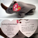 Ty Beanie Baby Spike the Rhino
