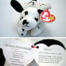 Ty Beanie Baby Dotty the Dog Dalmatian