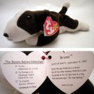 Ty Beanie Baby Bruno the Bull Dog