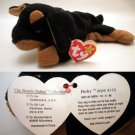 Ty Beanie Baby Doby the Dog Doberman Style # 4110