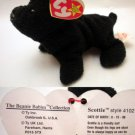 Ty Beanie Baby Scottie the Dog Scottie 4102
