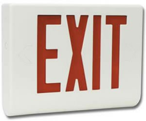 DVR Exit Sign Color Hidden Camera