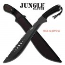 21 in Jungle Master Saw Back Machete