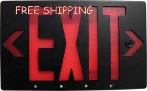 Bush Baby IP Exit Sign