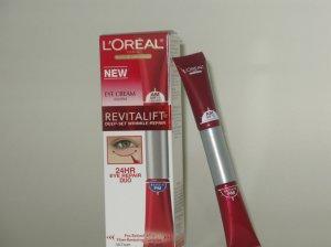 L'Oreal Revitalift Deep Set Wrinkle Repair 24 hr Duo Eye Cream