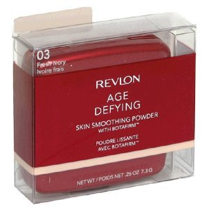 Revlon Age Defying Skin Smoothing Powder with BOTAFIRM Fresh Ivory #03