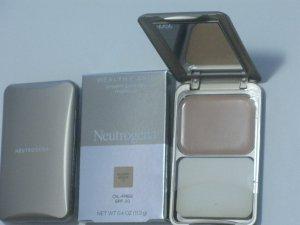 Neutrogena Healthy Skin Cream Powder Makeup Oil Free SPF 20 - Golden Bisque