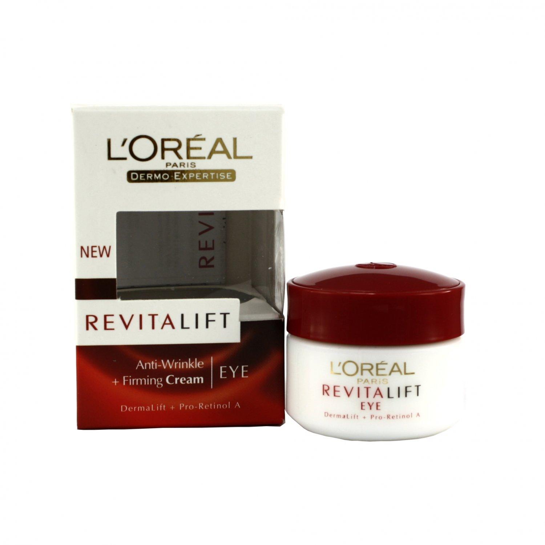 L'Oreal Revitalift Anti Wrinkle + Firming Eye Cream Dermalift + Pro-Retinol A 15ml