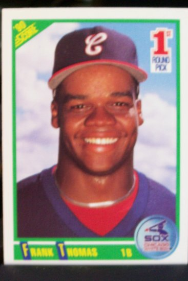 Frank Thomas Rookie Card - 1990 Score