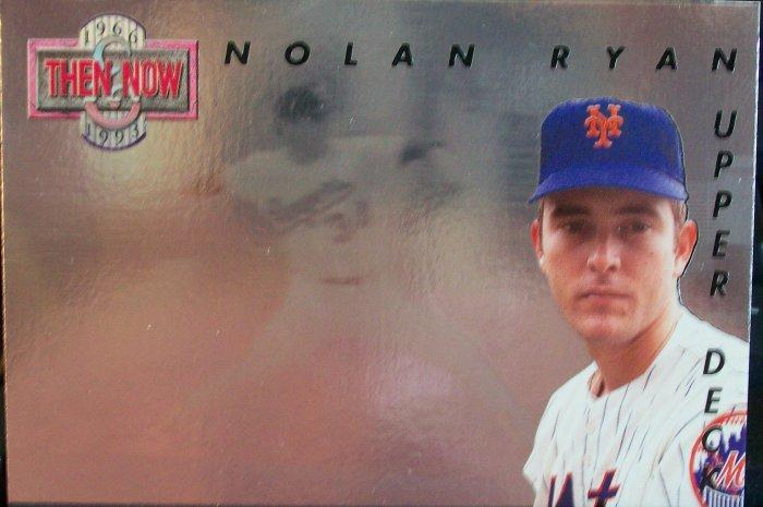 Nolan Ryan - Then & Now Upper Deck Card 1993
