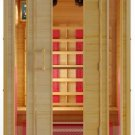 Hemlock 2 Person Ceramic Heater Far Infrared Sauna ETL Approved