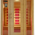 Hemlock 3 Person Ceramic Heater Far Infrared Sauna ETL Approved