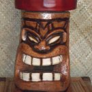Tiki Bar Stool #2301 Brown Seat