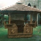 Bamboo Gazebo 5ft x 5ft with Cogon Roof