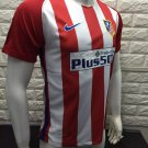 16/17 Atletico Madrid Home Soccer Jersey Shirt Football Sport Tee