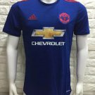 16/17 Man Union Away Soccer Jersey Shirt Football Sport Tee
