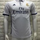 16/17 Real Madrid Home Soccer Jersey Shirt Football Sport Tee