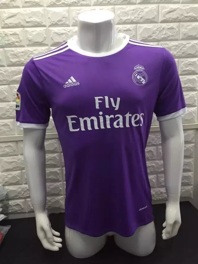 16/17 Real Madrid Away Soccer Jersey Shirt Football Sport Tee