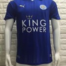 16/17 Leicester City Home Soccer Jersey Shirt Football Sport Tee
