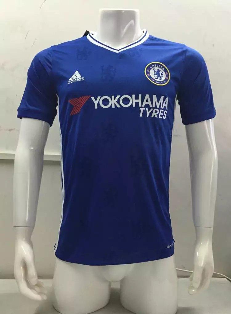 16/17 Chelsea Home Soccer Jersey Shirt Football Sport Tee