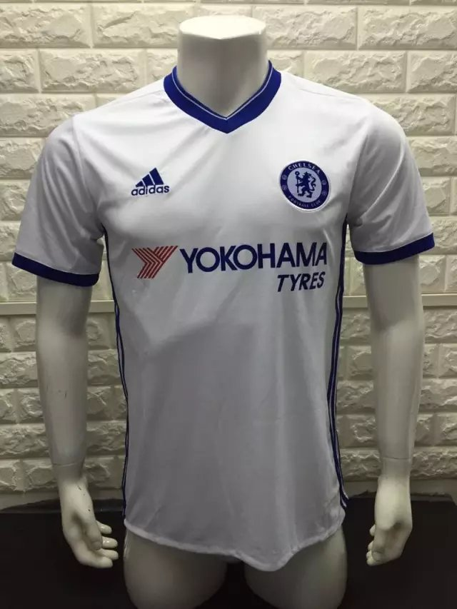 16/17 Chelsea Away Soccer Jersey Shirt Football Sport Tee