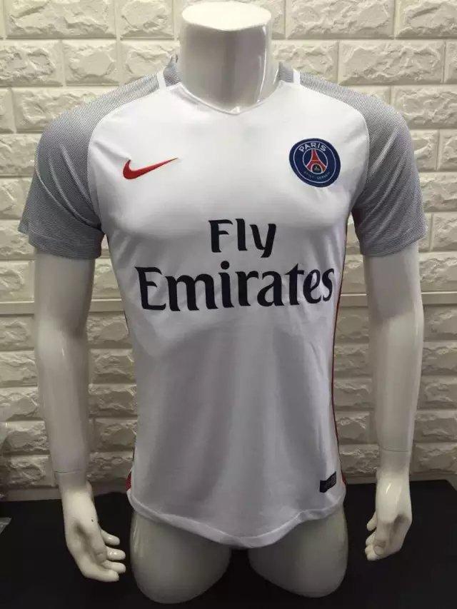 16/17 PSG Away Soccer Jersey Shirt Football Sport Tee