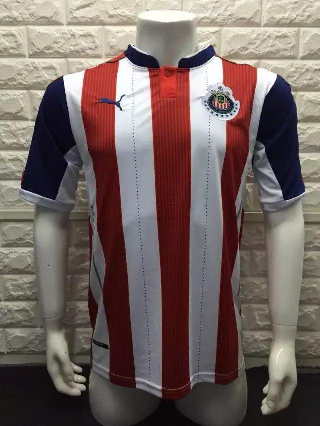 16/17 Chivas Home Soccer Jersey Shirt Football Sport Tee