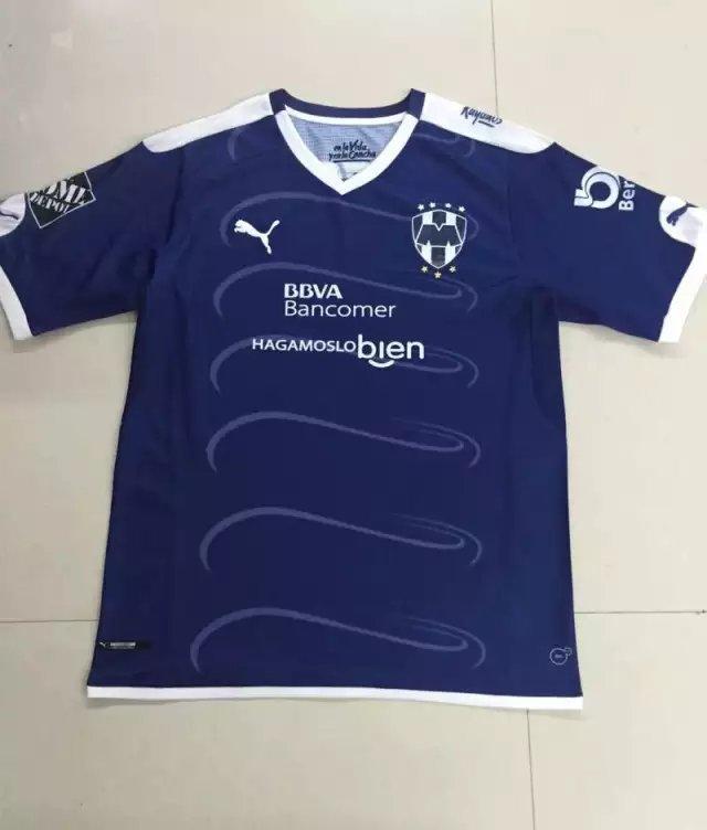 16/17 Monterrey Away Soccer Jersey Shirt Football Sport Tee