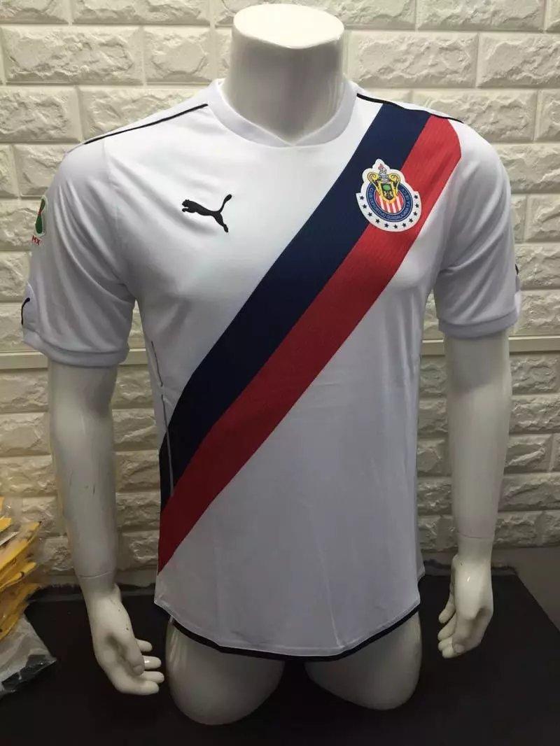 16/17 Chivas Away Soccer Jersey Shirt Football Sport Tee