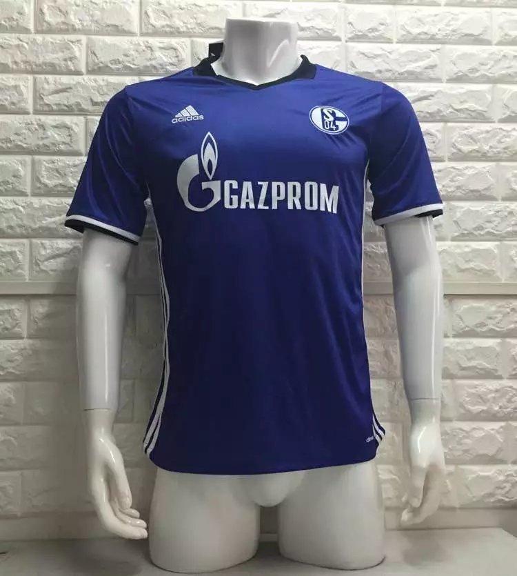 16/17 Schalke Soccer Jersey Shirt Football Sport Tee